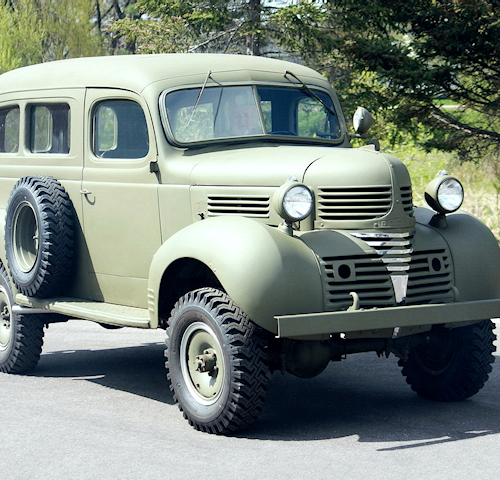 Dodge T207 1/2 Ton WC10 Carryall
