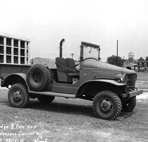Dodge T214 3/4 Ton WC51 Weapons Carrier