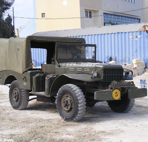 Dodge T214 3/4 Ton WC52 Weapons Carrier