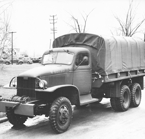 GMC CCKW Model 353 Long Wheel Base