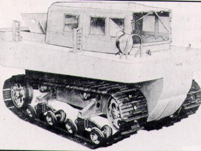 Studebaker M28 Amphibious Tracked Vehicle  Weasel